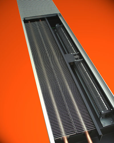 Fan Assisted Trench Heating